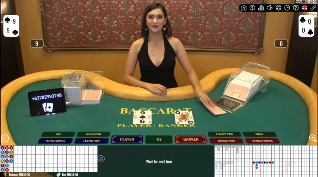 1XBET Casino คาสิโนสด - 1XBET live tables